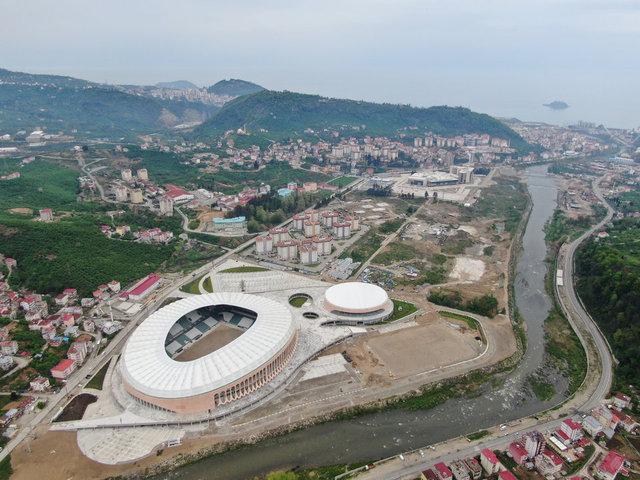 Çotanak Stadı bitiyor - Çotanak Stadı son hali