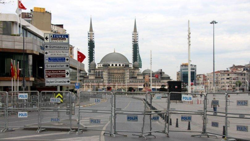 1 Mayıs önlemleri! Taksim Meydanı'na çıkan yollar kapatıldı - Haber