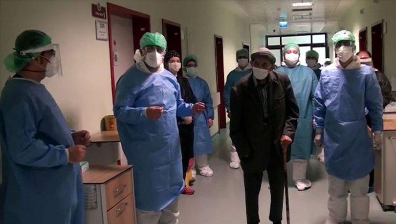 101 yaşındaki Ömer Dinler koronavirüsü yendi - Haberler