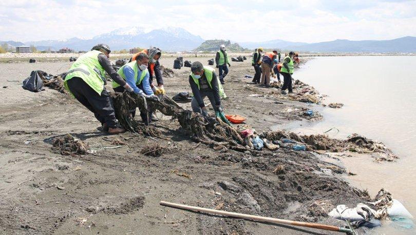 Son dakika haberler: Van Gölü için tehlike! Bir haftada 110 ton çöp çıktı