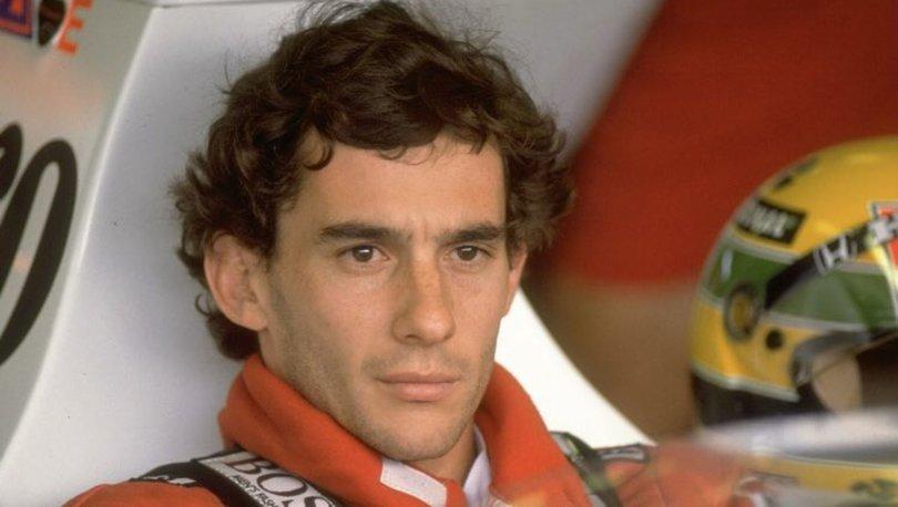 Efsane Formula 1 pilotu Senna unutulmadı