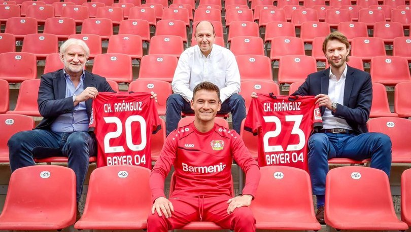Bayer Leverkusen, Aranguiz'in sözleşmesini 3 yıl daha uzattı