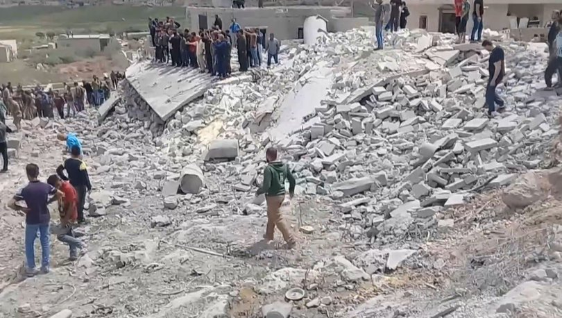 Halep'te tüp deposunda patlama!