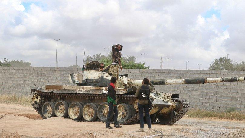 Son dakika haberler... Libya'da saldırı hazırlığındaki Hafter milisleri hedef alındı!