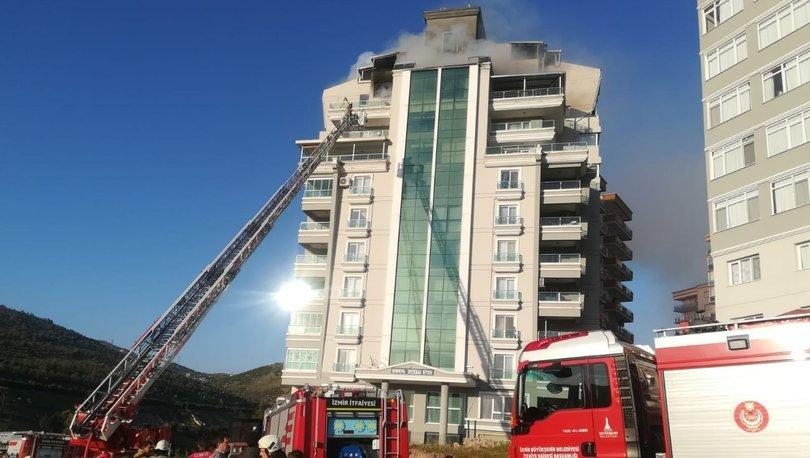 Son dakika haberler... İzmir'de iftar saatinde 10 katlı bir binada çıkan yangın korku dolu anlar yaşattı!