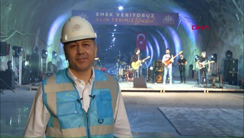 Son dakika haberler... Yerin 72 metre altında 1 Mayıs konseri!
