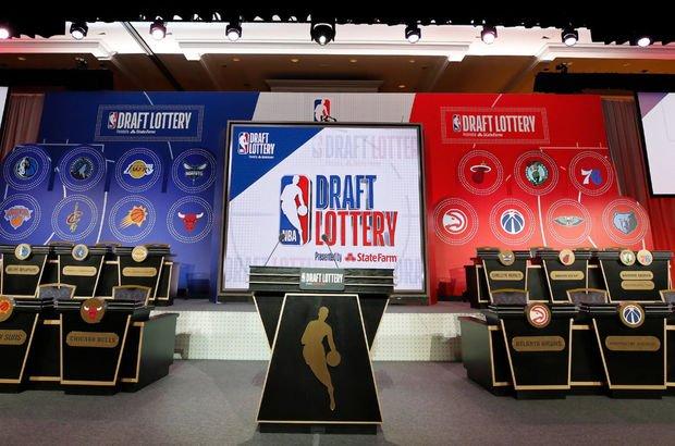 NBA'de draft kurası ertelendi