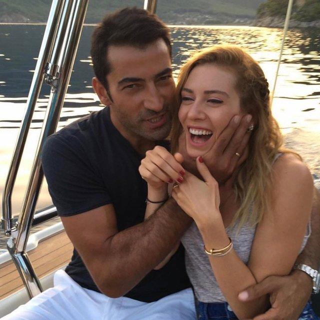 Kenan İmirzalıoğlu-Sinem Kobal çiftinden müjdeli haber! İşte bebeğin cinsiyeti - Magazin haberleri