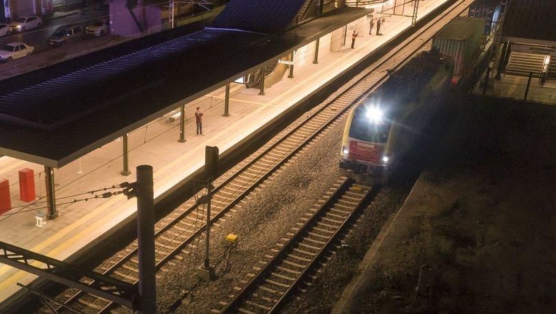 Son dakika haberler... Marmaray'dan ilk yurt içi yük treni yarın gece geçecek