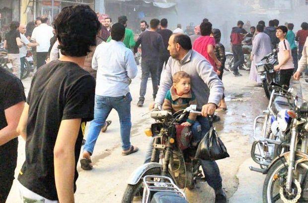 Suriye'de bombalı terör saldırısı