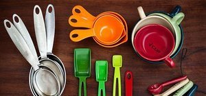 Un, şeker, su ölçü tablosu: Su ve çay bardağı, yemek ve tatlı kaşığı kaç gram?
