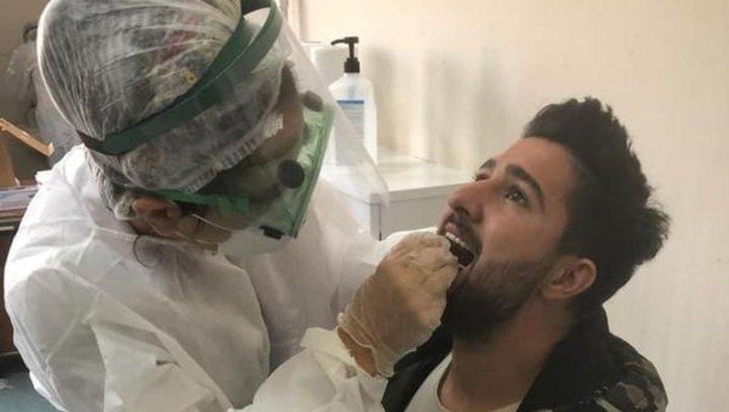 Elazığspor ekibine, koronavirüs testi yapıldı