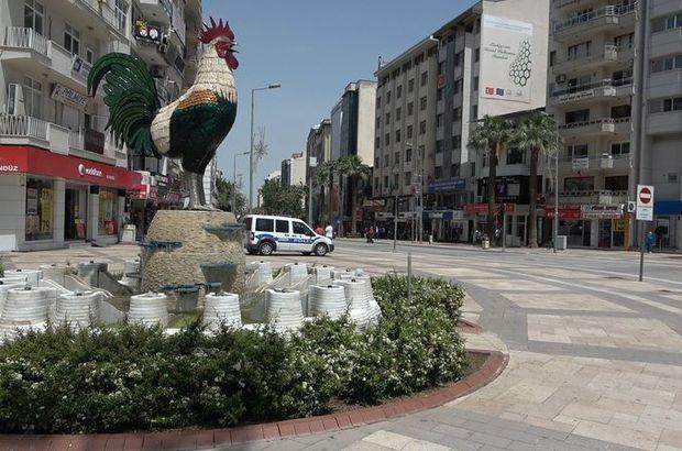"""Denizli'de 17 mahallede """"şap"""" karantinası"""
