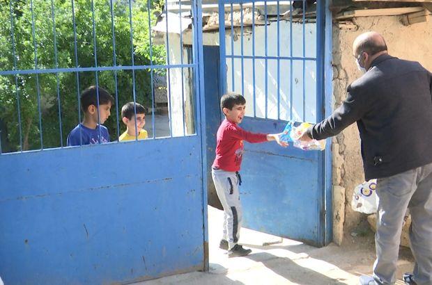 Elazığ'da çocuklara oyuncak sürprizi