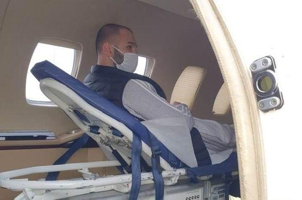 Kanser hastası genç, İsveç'ten Türkiye'ye nakledildi