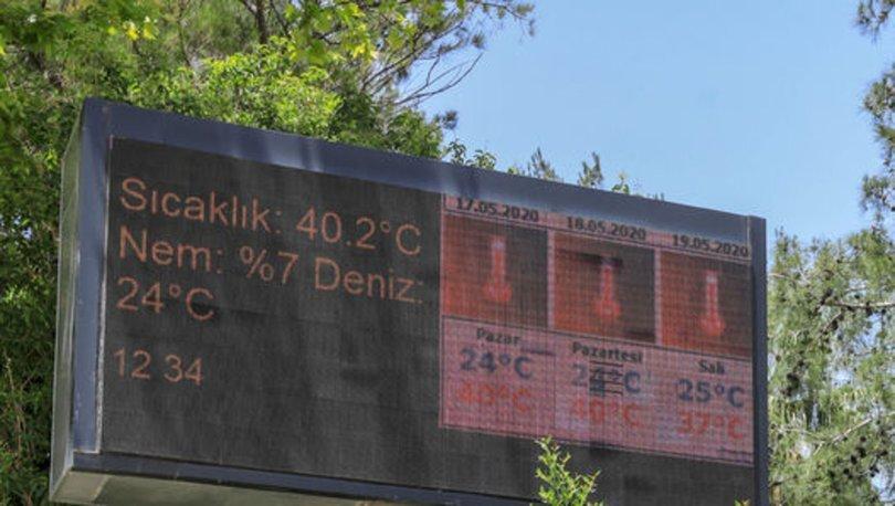 91 yıllık hava sıcaklığı rekoru