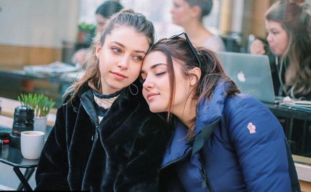 Gamze Erçel'den kardeşi Hande Erçel'e: Bu nasıl bir güzellik? - Magazin haberleri