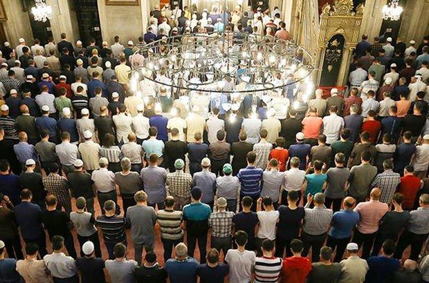 Camilerde ibadetin tarihi belli oldu