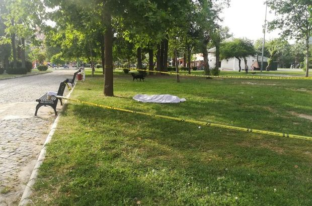 İzmir'de şüpheli ölüm! Cansız bedeni parkta bulundu
