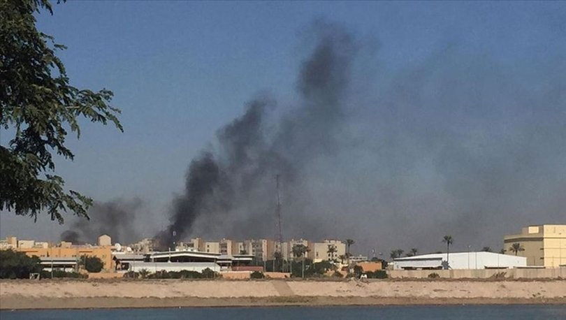 Bağdat'ta ABD Büyükelçiliğinin bulunduğu Yeşil Bölge'ye füzeli saldırı