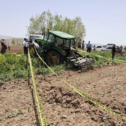 Son dakika haberler... Aksaray'da freni boşalan traktörün altında kalan çiftçi öldü