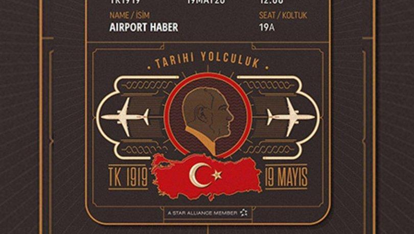 THY Samsun 19 Mayıs hatıra bileti nasıl ve nereden alınır
