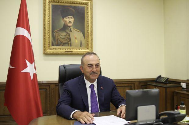 Bakan Çavuşoğlu'ndan telefon diplomasisi