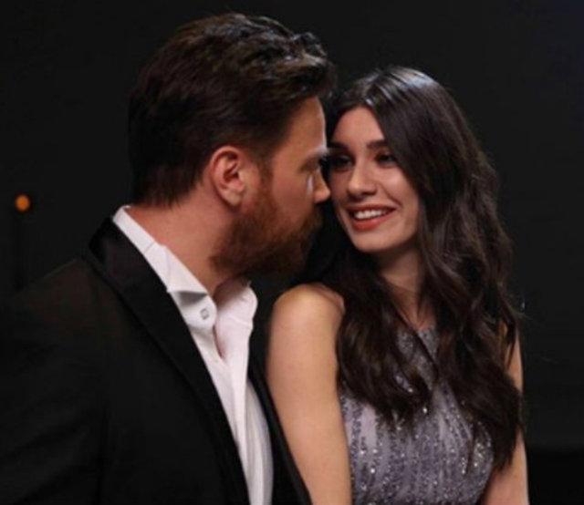 Burcu Kıratlı'dan Sinan Akçıl'a romantik kutlama - Magazin haberleri