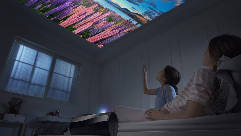 Kablosuz projektörde otomatik dikey mod