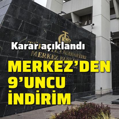 Son dakika haberler: Merkez Bankası faiz kararını açıkladı