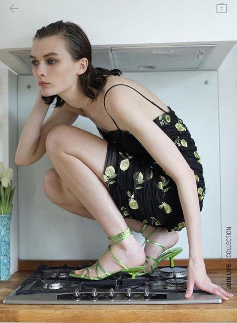 Zara modellerinin pozları internete konu oldu!