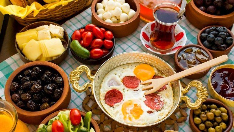 Oruç tutanlarda ilk kahvaltı