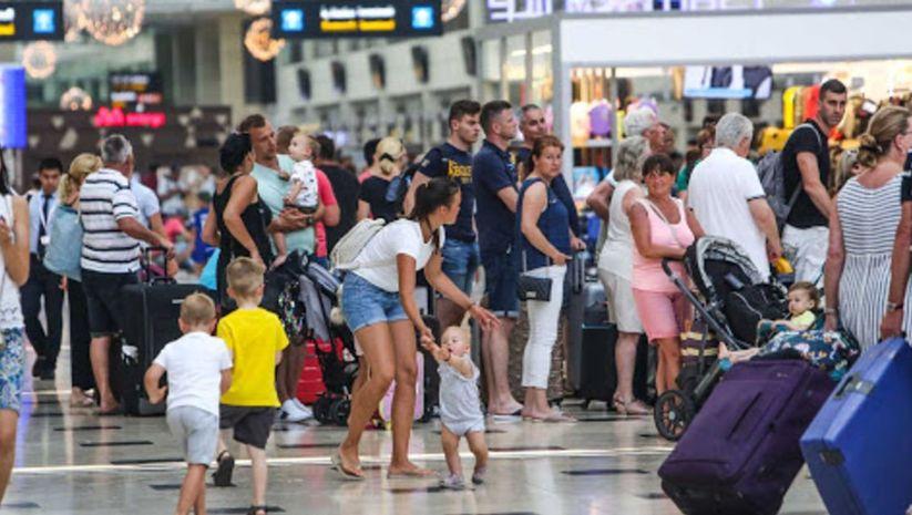 Yabancı ziyaretçi sayısı yüzde 99 azaldı