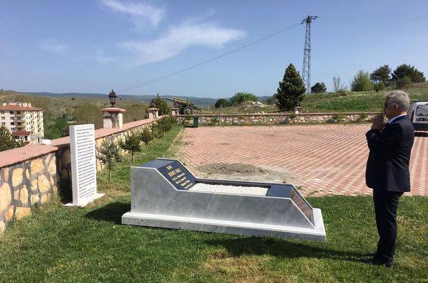Şehit Şerife Bacı için temsili mezarlık