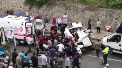 trabzon'da yanlış dolmuşa binen kadın öldü
