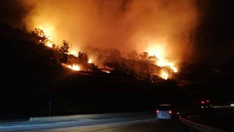 son dakika orman yangını