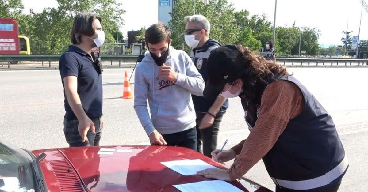 İstanbul'dan Trabzon'a giden aileye, 13 bin TL para cezası