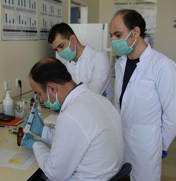 Prof. Dr. Sedat Yıldız, yeni tip koronavirüs (Kovid-19) testlerinin çok daha fazla kişiye kolaylıkla uygulanabilmesi amacıyla ELISA testi geliştirdi. Prof. Dr. Yıldız, test kitlerine ilişkin çalışmalarını tamamladıklarını, elde ettikleri bulguların Sağlık Bakanlığı ile paylaşılacağını ifade etti