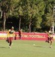 Galatasaray, Florya Metin Oktay Tesisleri´ndeki çalışmalarına bugün yaptığı antrenmanla devam etti.