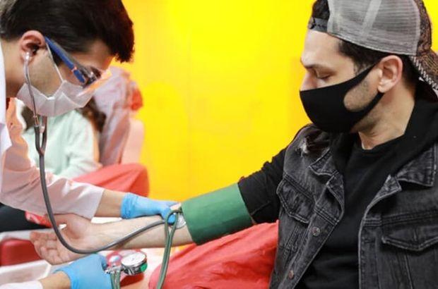 Ünlü oyuncudan Kızılay'a kan bağışı
