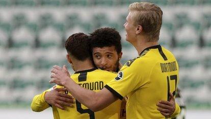 Sancho'dan Bundesliga'da bir ilk