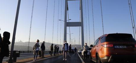 Son Uyanış: Köprüde film çekimi