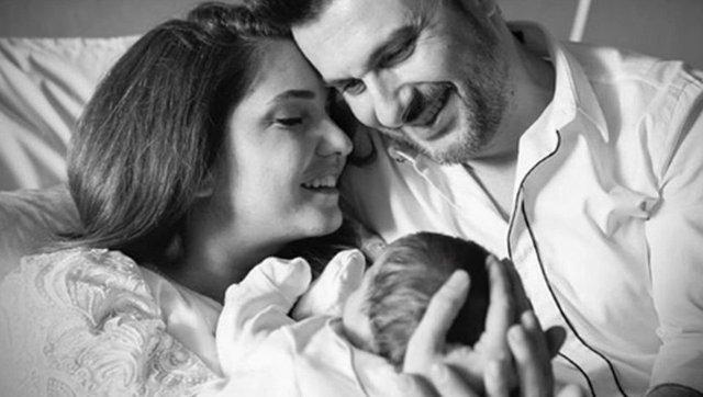 Gökhan Tepe oğlunun yüzünü ilk kez gösterdi - Magazin haberleri