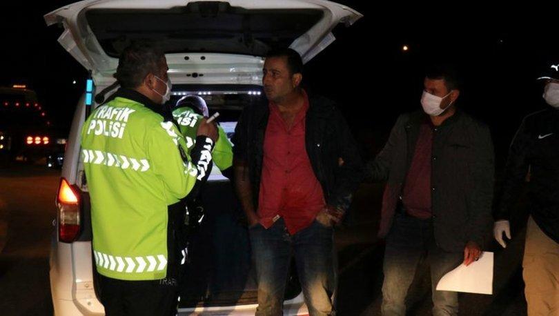 Sakarya'da alkollü sürücü polisten kaçarken kaza yaptı