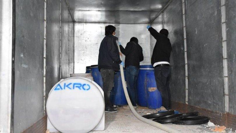 Kırıkkale'de kaçak alkol operasyonu