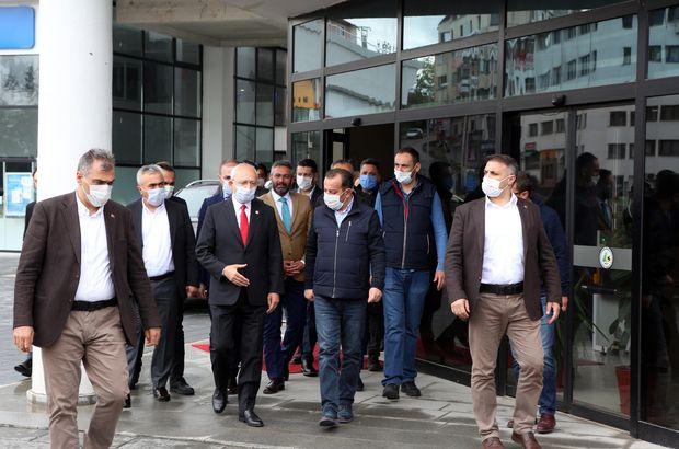 Kemal Kılıçdaroğlu'ndan Bolu'ya sürpriz ziyaret