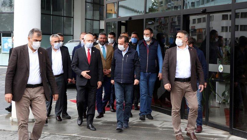 Kemal Kılıçdaroğlu, Bolu Belediyesini ziyaret etti