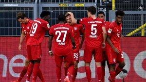 Bayern, Dortmund'u yıktı!