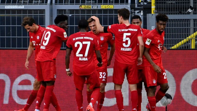 Dortmund:0 - Bayern Münih: 1   MAÇ SONUCU