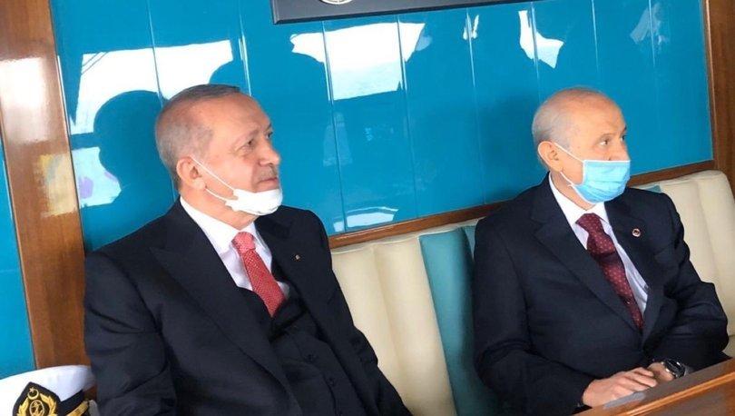 Son dakika! Cumhurbaşkanı Erdoğan ve MHP lideri Bahçeli Yassıada'ya gitti - Haber